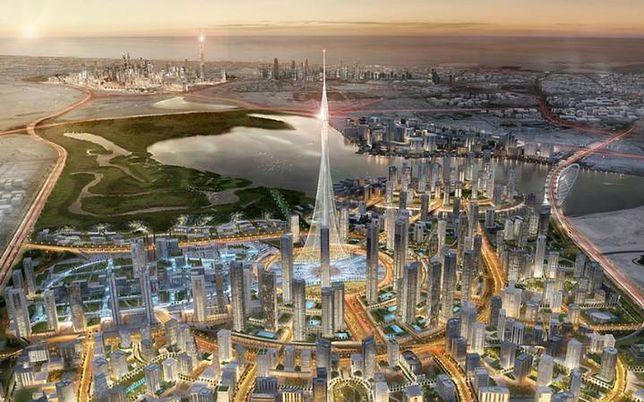 Nowy wysokościowiec w Dubaju, ZEA (830 - 1000 m)