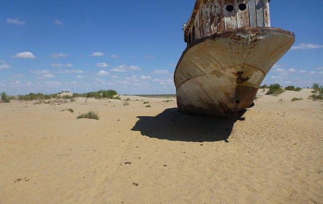 Jezioro Aralskie - najsuchsze morze świata