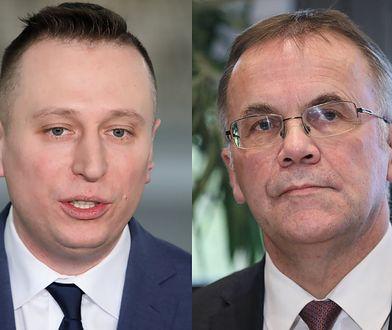 Krzysztof Brejza i Jarosław Sellin