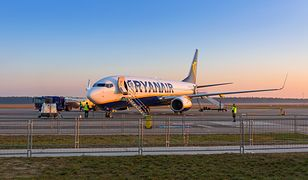 Załoga poprosiła o zgodę na awaryjne lądowanie na najbliższym możliwym lotnisku