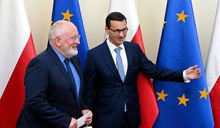 """Frans Timmermans uchodzi za najostrzejszego """"gracza"""" w sporze UE z Polską"""