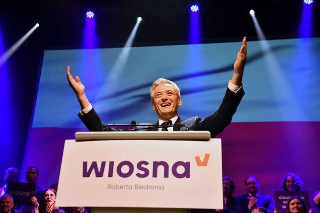 Konwencja wyborcza Wiosny Roberta Biedronia