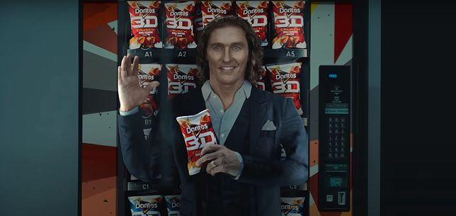 Matthew McCounaghey w reklamie Doritos