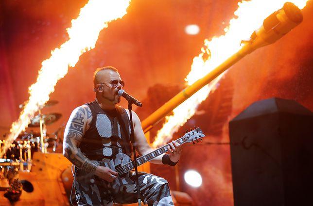 Zespól Sabaton miał zagrać koncert w Gdańsku