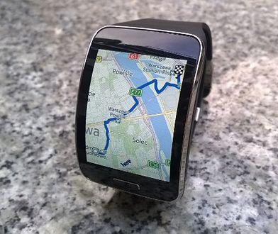 TEST: Zegarek Samsung Gear S jako nawigacja z mapami Here
