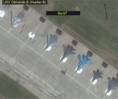 Ochotnik-B to rosyjski odpowiednik amerykańskich X-47B