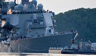 Dwa wypadki amerykańskich niszczycieli. US Navy zbada możliwość ataku hakerskiego