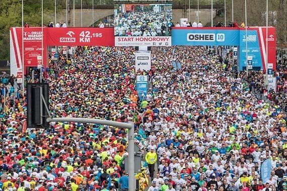Orlen Warsaw Marathon sparaliżował miasto. Mieszkańcy chcą go przenieść poza stolicę
