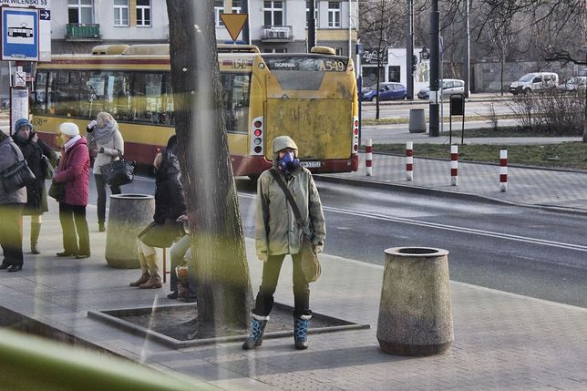 Warszawa jednym z najbardziej zanieczyszczonych miast Europy!