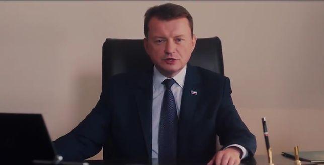 Mariusz Błaszczak (MON) promuje defiladę 15 sierpnia
