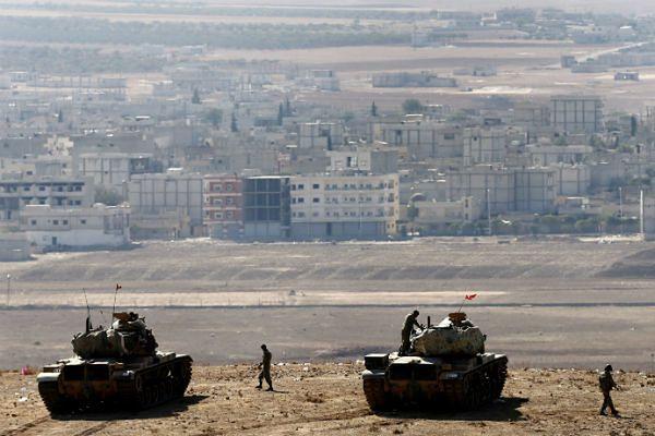 Granica Syria-Turcja