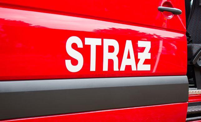 Małopolska. Płonie co najmniej 21 budynków. Ogromny pożar we wsi Nowa Biała