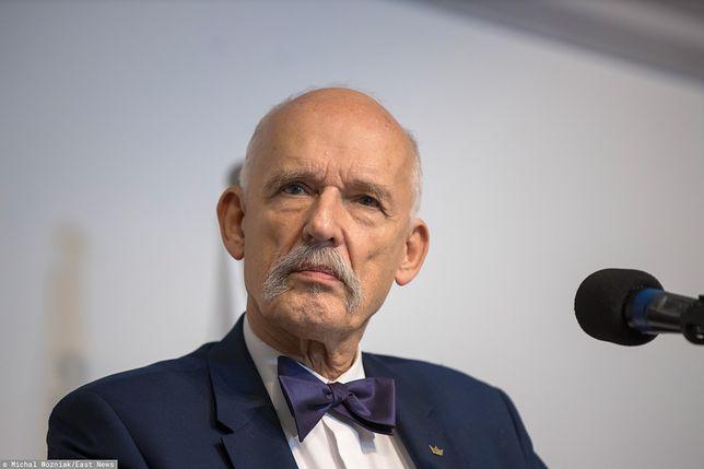 Janusz Korwin-Mikke będzie w czołówce najbogatszych posłów