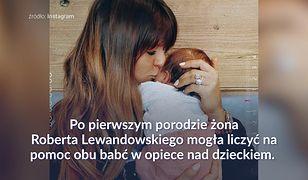 Lewandowscy znowu w Polsce. Laura w końcu poznała dziadków