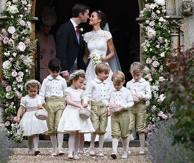Dzieci księżnej Kate na ślubie Pippy Middleton