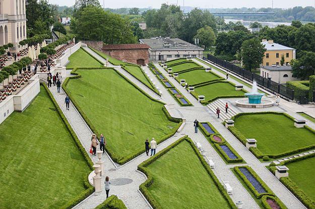 Odtworzono Ogród Górny Zamku Królewskiego w Warszawie
