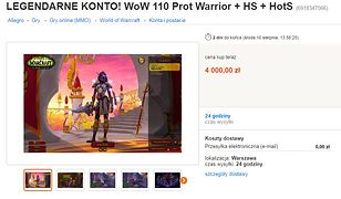 Handel e-przedmiotami ma się świetnie. Sprzedają je za ponad 1000 zł