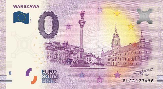 Polski banknot 0 euro wkrótce w sprzedaży