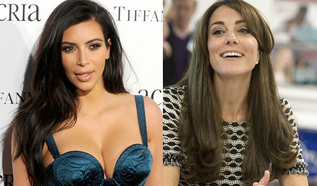 Księżna Kate pogratulowała Kim Kardashian narodzin syna!
