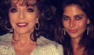 Weronika Rosati nadal przeżywa spotkanie z Joan Collins!