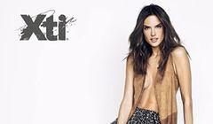 Alessandra Ambrosio w kampanii XTI