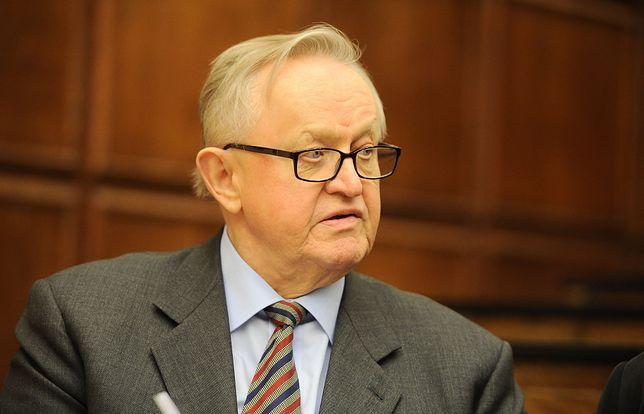 Koronawirus na świecie. Finlandia. Były prezydent Martti Ahtisaari zakażony wirusem.