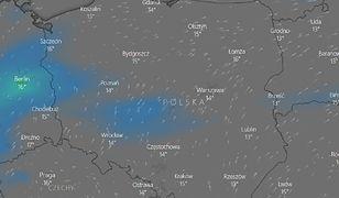 Pogoda w Polsce. W piątek przelotne opady deszczu. W sobotę może zagrzmieć