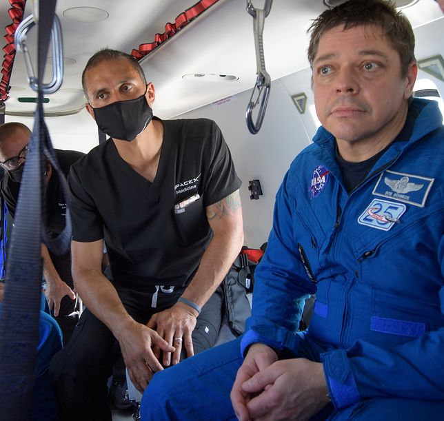 Astronauci przeprowadzili na orbicie szereg doświadczeń i obserwacji