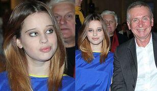 Krzysztof Materna z córką na salonach!