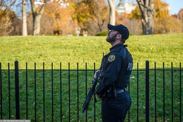USA. Służby ze wzmożoną czujnością patrolowały rządowe siedziby w Waszyngtonie