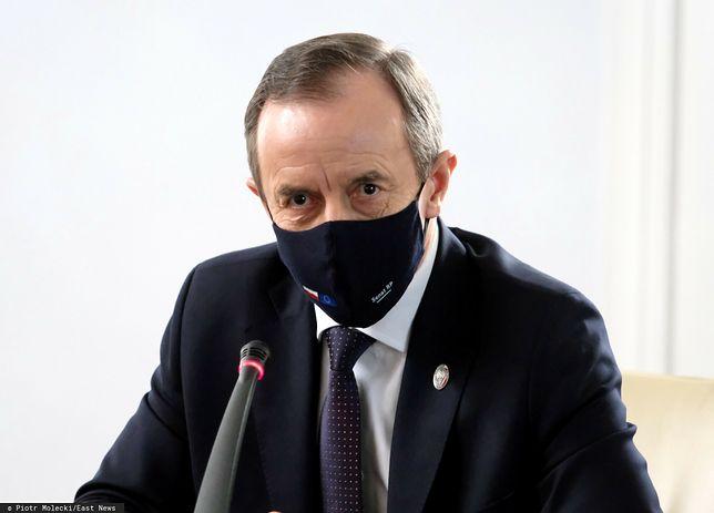 Prokuratura chce uchylenia immunitetu Tomaszowi Grodzkiemu. Szczegóły wniosku