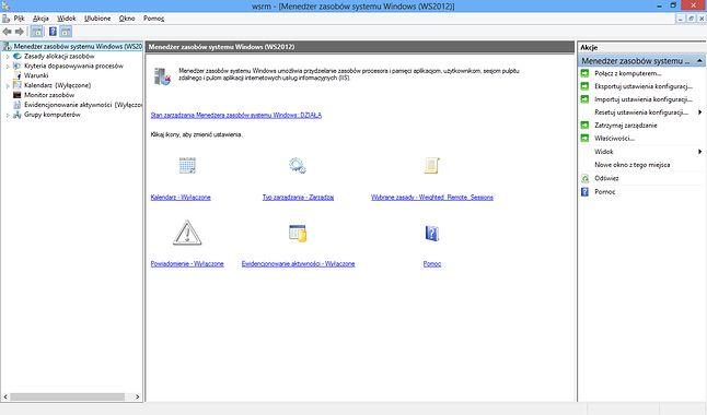 Menedżer zasobów systemu Windows
