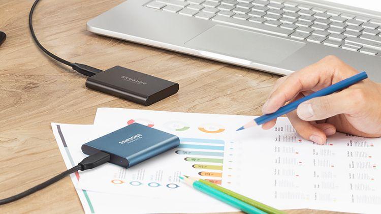 Samsung T5: przenośny dysk SSD z prędkością odczytu do 540 MB/s