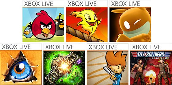 Angry Birds, Burn the Rope, de Blob, Doodle God, IonBallEX, Max and the Magic Marker, Toy Soldiers