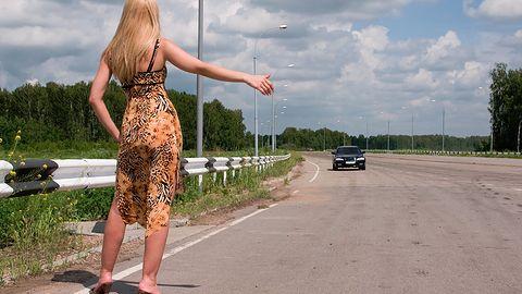 Yanosik wychodzi naprzeciw autostopowiczom