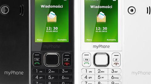 myPhone Metro to tanie, proste telefony z klapką