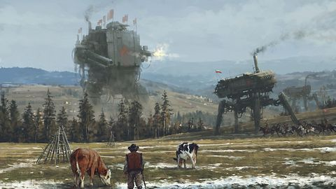 Powstaje gra komputerowa na motywach świetnych grafik Jakuba Różalskiego