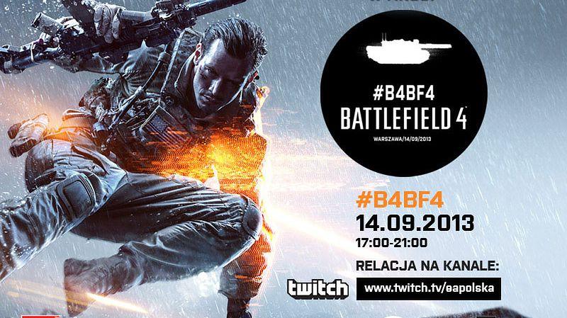 EA zaprasza do oglądania strumienia na żywo z walk w Battlefield 4, będą grać Polacy