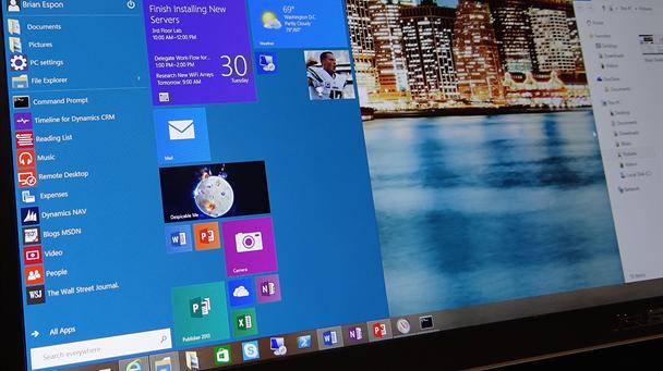 W Windows 10 kafelki pojawią się również na Pulpicie?