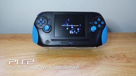 PlayStation 2. Domowy przenośny PIS2 na bazie płyty głównej oryginału