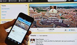 Pierwszy wpis Franciszka na Twitterze