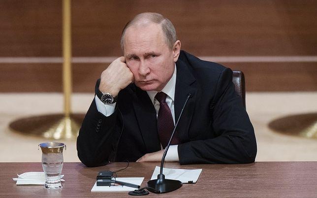 """""""FAZ"""" o wypowiedziach Putina o Polsce: nieprzyzwoite"""