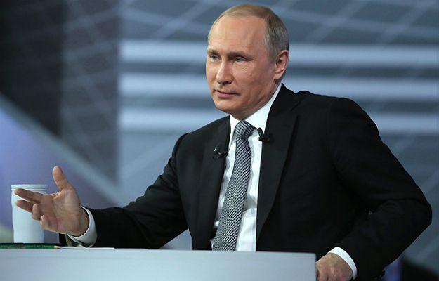 """Rosjanie przepytali Władimira Putina. Prezydent Rosji: za """"Panama Papers"""" stoją przedstawiciele USA, takich prowokacji będzie jeszcze więcej"""
