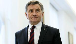 W imieniu Marka Kuchcińskiego głos zabrał dyrektor CIS