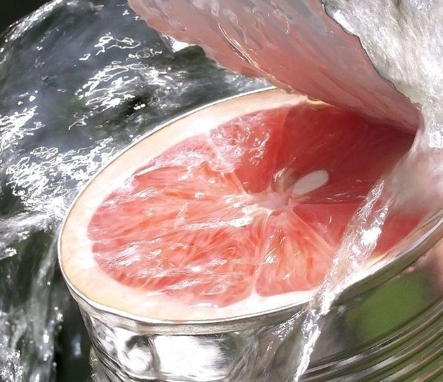 Słodkie grejpfruty prosto z puszki