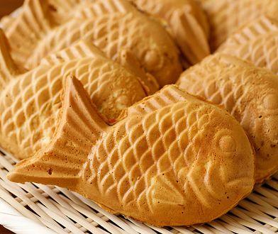 Taiyaki to japoński deser  w kształcie rybki