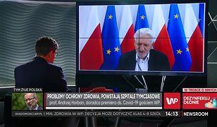 """Koronawirus w Polsce. Prof. Andrzej Horban: """"To nie jest jeszcze lockdown"""""""