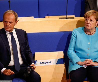 Merkel i Tusk apelują do UE o wspólną i szybką pomoc dla uchodźców w Morii