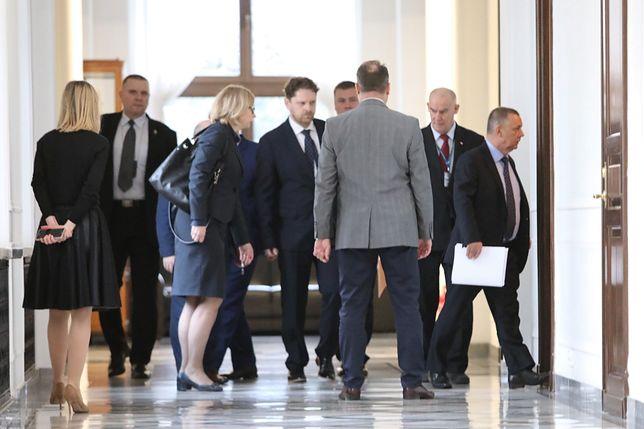 Marian Banaś po spotkaniu z Elżbietą Witek zapowiedział złożenie zażalenia na działania CBA