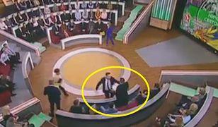 Polak znów pobity w rosyjskiej telewizji. Jednemu z gości nie spodobały się jego słowa